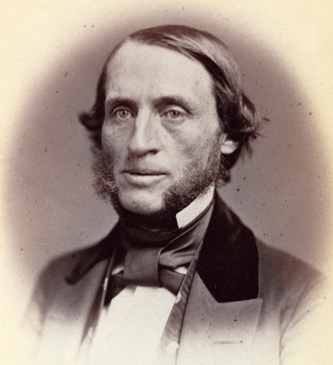 Photograph of Thomas Lanier Clingman, 1859. Image from the Library of Congress.