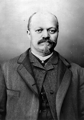 A photograph of Warren Clay Coleman circa 1899. Image from the Library of Congress.