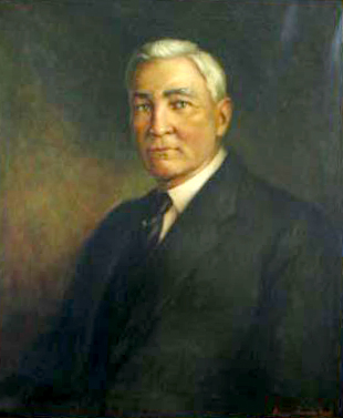 A portrait of George Whitfield Connor. Image from the North Carolina Museum of History.