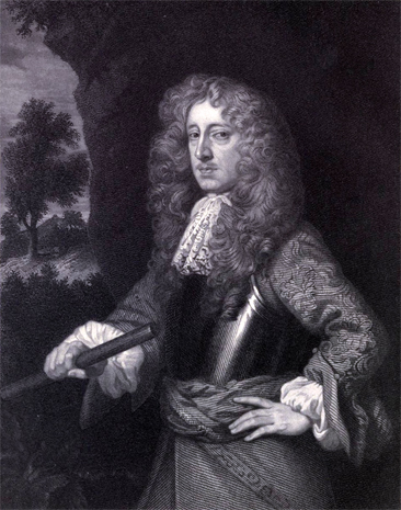 Engraved portrait of Anthony Ashley Cooper, by W. Holls from a painting by Sir Peter Lely.  Published in W. D. Christie's <i>A Life of Anthony Ashley Cooper, First Earl of Shaftesbury. 1621-1683</i>, published 1871 by MacMillan and Co., London and New York.  Presented on Archive.org.