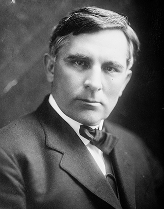 Photograph of Locke Craige, circa 1910-1915. Image from the Library of Congress.