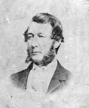 An 1864 photograph of Thomas Morrow Crossan. Image from the North Carolina Museum of History.