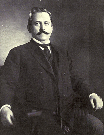 A photograph of Dr. Charles William Dabney published in 1904. Image from the Internet Archive.
