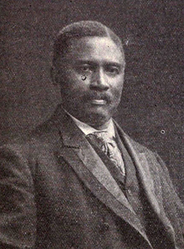 A photograph of John Campbell Dancy, Jr. published in 1908. Image from the Internet Archive.
