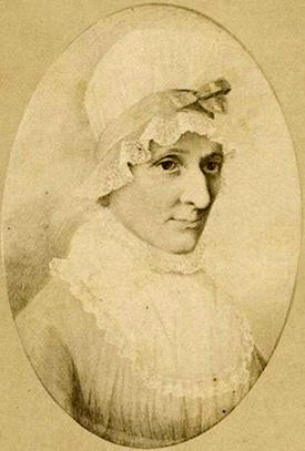 Photograph of a portrait of Mary Haynes Long Davis. Image from the North Carolina Museum of History.