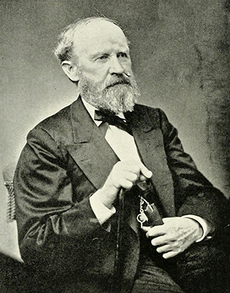 A photograph of Adam Brevard Davidson, published in 1892. Image from the Internet Archive.