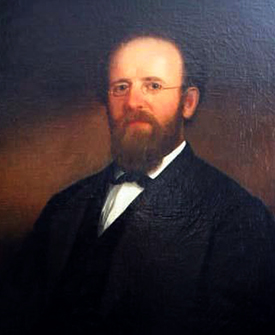 Portrait of Robert Paine Dick by William Garl Browne, 1869. Image from the North Carolina Museum of History.
