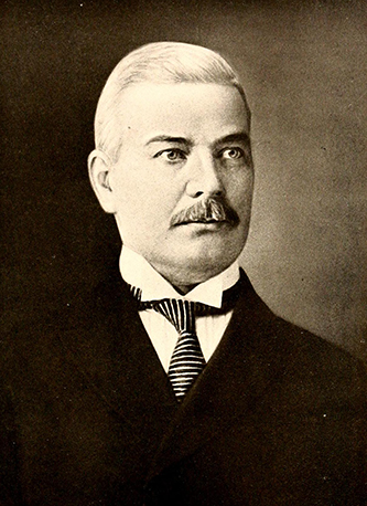 A photograph of Dr. Richard Dillard published in 1919. Image from the Internet Archive.