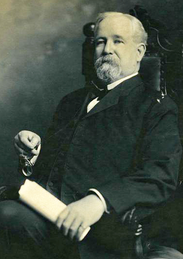 A photograph of Benjamin Franklin Dixon. Image from the North Carolina Museum of History.