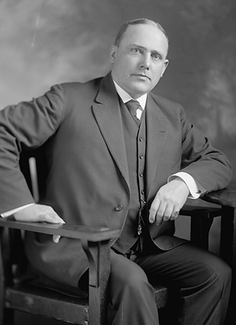A photograph of Joseph Dixon Moore, taken sometime after 1905. Image from the Library of Congress.