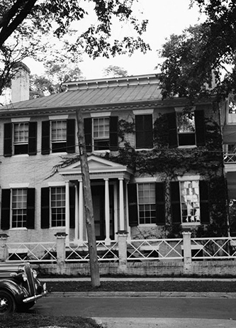 A 1937 photograph of Beverly Hall, birthplace of Richard Dillard Dixon. Image from the Library of Congress.