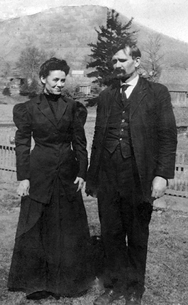 Dauphin Disco Dougherty and his wife Lillie B. Shull Dougherty. Image from the Appalachian State University Digital Collections.
