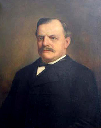A portrait of Justice Robert Martin Douglas. Image from the North Carolina Museum of History.
