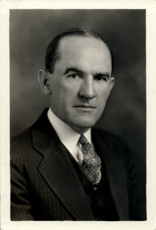Dudley Dewitt Caroll. Image courtesy of UNC Libraries.