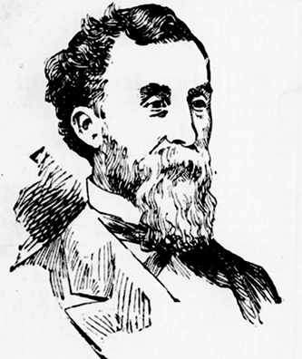 An engraving of Poindexter Dunn published in the June 10, 1893 New-York Tribune. Image from the Library of Congress.