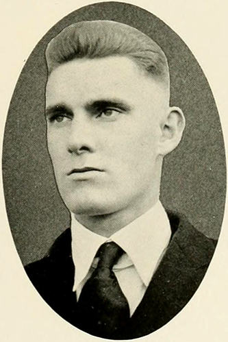 """W. C. Eaton."" Photograph. Yackety Yack '20 vol. 30. Chapel Hill, N.C.: Dialectic and Philanthropic Literary Societies and the Fraternities of the University of North Carolina. 1920. 247."
