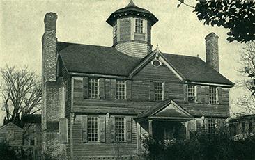 Photograph of Eden House. Image from Archive.org