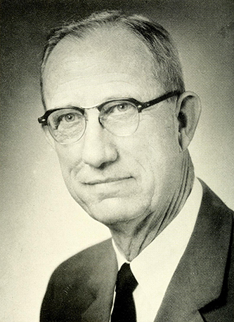 A photograph of Philip Lovin Elliott Sr. published in 1961. Image from the Internet Archive.