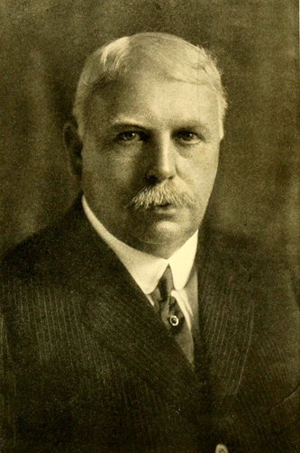 A photograph of Isaac Edward Emerson published in the 1922 University of North Carolina yearbook. Image from the University of North Carolina at Chapel Hill.
