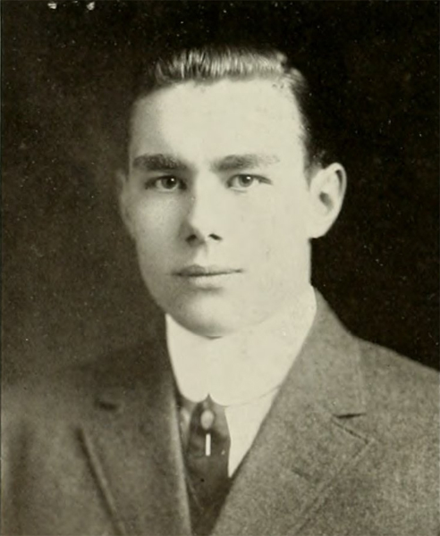 Senior portrait of Percy Bell Ferebee, from the 1913 North Carolina College of Agriculture and Mechanic Arts yearbook <i>The Agromeck</i>.  Item #agromeck1913nort, Agromeck Yearbooks, Rare & Unique Collections, NCSU Libraries.