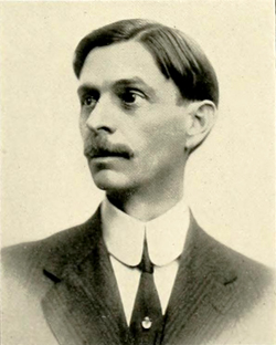 A photograph of William Preston Few from the 1916 Trinity College yearbook. Image from the University of North Carolina at Chapel Hill.