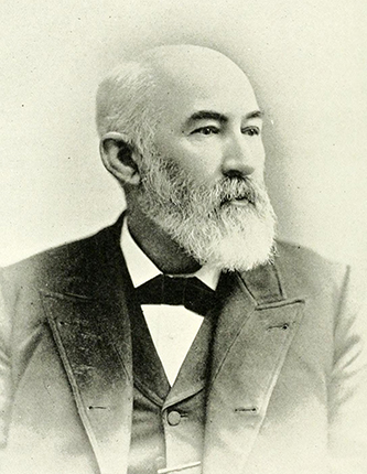 A photograph of Sidney M. Finger published in 1892. Image from the Internet Archive.
