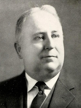 A photograph of Dr. William Henry Frazer from the 1938 Queens Chicora College yearbook, The Coronet. Image from Archive.org.