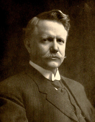 "A photograph of ""Colonel"" Francis Henry Fries, circa 1919. Image from Archive.org."