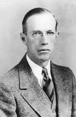 Photograph of Monroe Evans Gardner.  Image courtesy of the Special Collections Research Center, North Carolina State University Libraries, Raleigh, North Carolina.