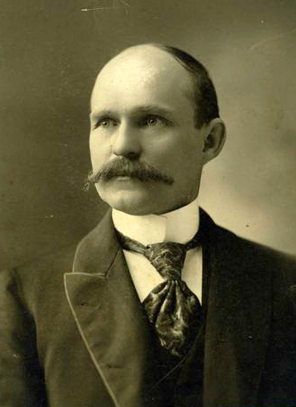 A photograph of Robert D. Gilmer circa 1890-1910. Image from the North Carolina Museum of History.