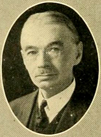 A photograph of professor William Henry Glasson from the 1925 Duke University yearbook. Image from the University of North Carolina at Chapel Hill.