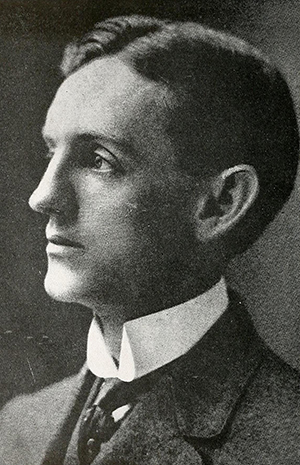 Edward Kidder Graham, circa 1915. Image from the North Carolina Digital Collections.