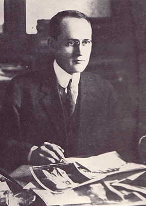"""Ralph Henry Graves."" Photograph. The Carolina Magazine. February 1923. 14."