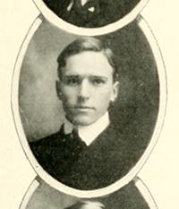 """Fletcher Harrison Gregory ... Halifax, N.C."" The Yackety Yack vol. 4. [Chapel Hill, N.C.]: The Literary Societies and the Fraternities of the University of North Carolina. 1904. 21. Image from Digital NC, North Carolina Digital Heritage Center, University of North Carolina at Chapel Hill."