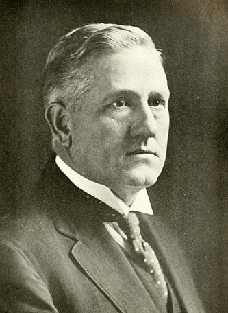 A photograph of George Adonijah Grimsley published in 1919. Image from the Internet Archive.