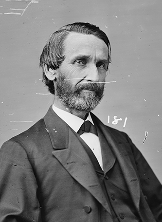 A photograph of James Clarence Harper from between 1860 and 1875. Image from the Library of Congress.