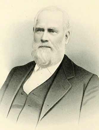 An engraving of William Joseph Hawkins published in 1892. Image from the Internet Archive.