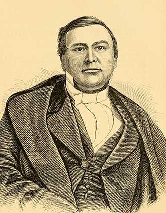 "Roberts, engraver, and Brown, photographer. ""The Right Reverend Cicero Stephens Hawks, D.D.. Bishop of Missouri.""  Edwards's great West and her commercial metropolis: embracing a general view of the West and a complete history of St. Louis, from the landing of Ligueste, in 1764, to the present time; with portraits and biographies of some of the old settlers, and many of the most prominent business men. St. Louis: Published at the office of ""Edwards's monthly"". 1860. 545."