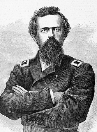 An engraving of Joseph Roswell Hawley published in 1868. Image from the Library of Congress.