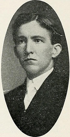 Charles H. Haynes, son of Raleigh Rutherford Haynes, circa 1913. Image from the North Carolina Digital Collections.