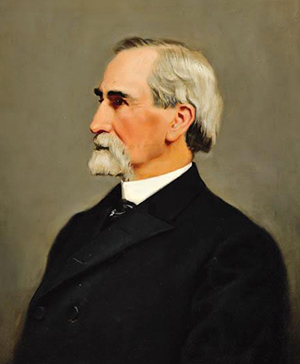 Portrait of Dr. Edmund Burke Hawyood, by W.G. Randall (or a copy of a painting by him). Image from the North Carolina Museum of History.