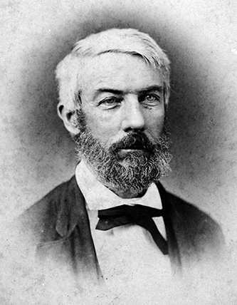 A photograph of Daniel Harvey Hill, circa 1865-1875. Image from North Carolina State University.
