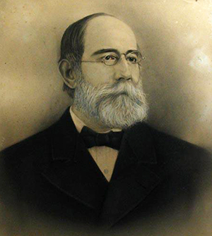 Dr. Peter Evans Hines.  Image from the North Carolina Museum of History.