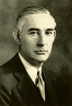 Photograph of Allan Wilson Hobbs, 1931. Image from Archive.org.
