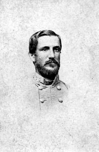 Photograph of Confederate Major General Robert Frederick Hoke. Image from the North Carolina Museum of History.
