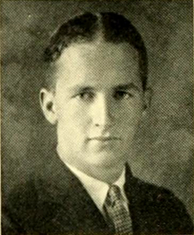 """William Henry Holderness."" Photograph. Yackey Yack vol. 34. Chapel Hill, N.C.: Publications Union of the University of North Carolina. 1924. 66."
