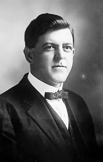 A photograph of George Ezekiel Hood from between 1908 and 1919. Image from the Library of Congress.