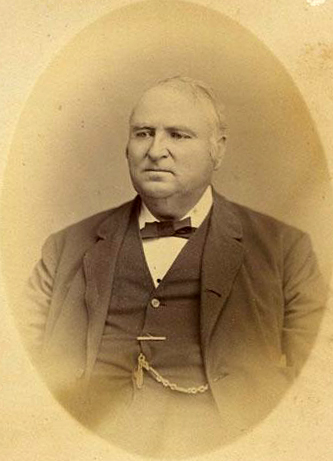 "A photograph of David Aaron Jenkins, state treasurer. ""Photograph, Accession #: H.1958.63.7."" 1868-1876. North Carolina Museum of History."