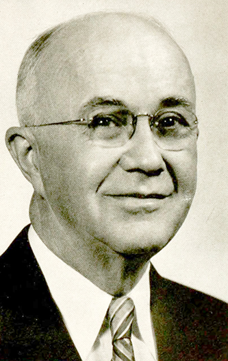 A photograph of the Rev. James Lineberry Jenkins published in 1952. Image from the Internet Archive.