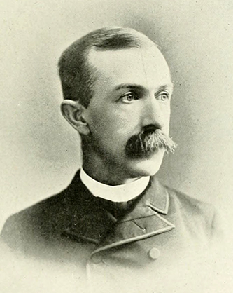 A photograph of Thomas R. Jernigan published in 1892. Image from the Internet Archive.